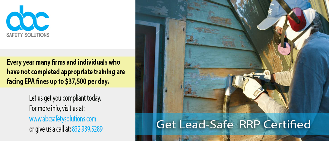 Get Lead-Safe RRP Certified
